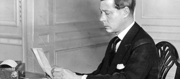 Prince Edward VIII Becoming King