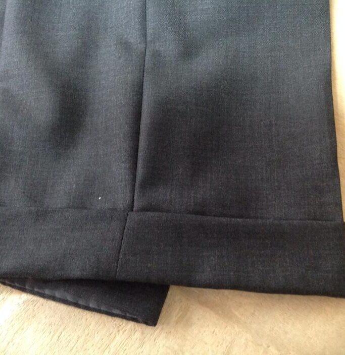 pantaloni sartoriali - orlo
