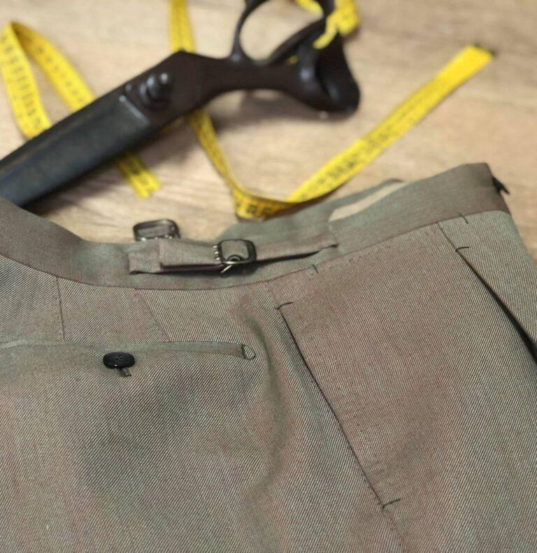 pantalone sartoriale